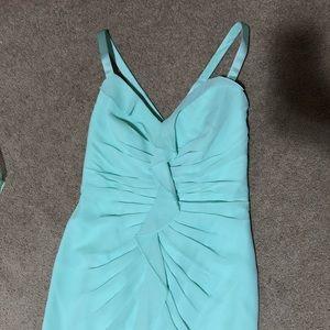 White by Vera Wang Dresses - Vera Wang Mint Green Ruffle Bridesmaid Dress